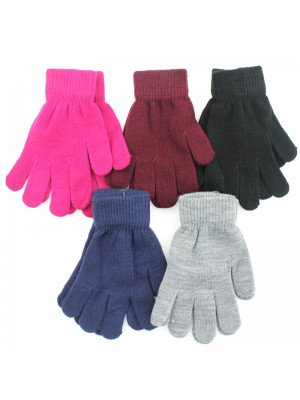 Ladies Thermal Magic Gloves - Assorted Colours
