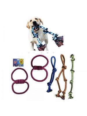 Large Rope Tug Toys - Assorted