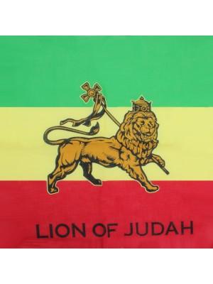 Lion of Judah Print Bandanas (With Writing)