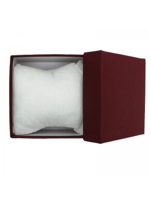 Watch Box with Cushion - Maroon