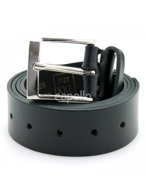 "Men's Shiny Leather Belts 1.5"" - XXX Large"