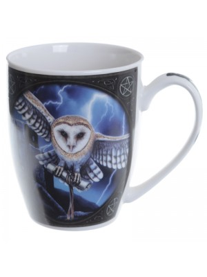 Lisa Parker Heart of the Storm Owl New Bone China Mug