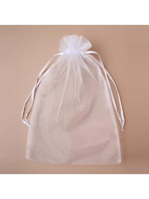 Organza Gift Bag - White (28x40cm)
