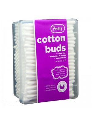 Pretty Cotton Buds - 200 Pcs