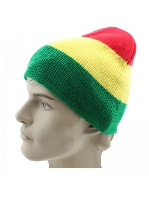 Rasta Design Beanie Hat - Small