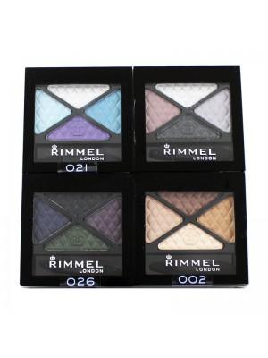 Rimmel Glam Eyes Quad Eyeshadow - Assorted
