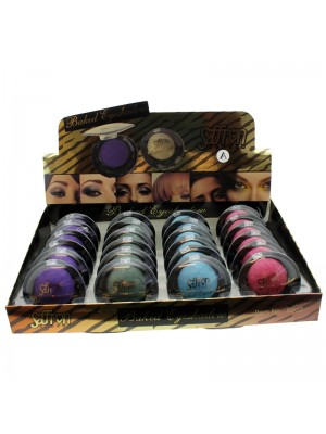 Saffron Baked Eyeshadow - Assorted Colours (A)