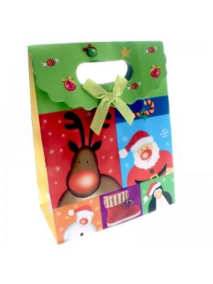 Christmas Gift Bag Santa (small)