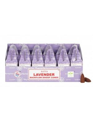 Satya Backflow Dhoop Cones-Lavender