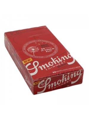 Smoking Red Thinnest Medium Rolling Paper