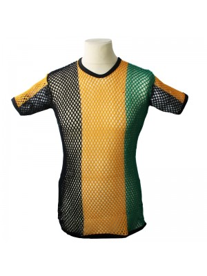 String T-Shirts - Jamaica Colours (Assorted Sizes)