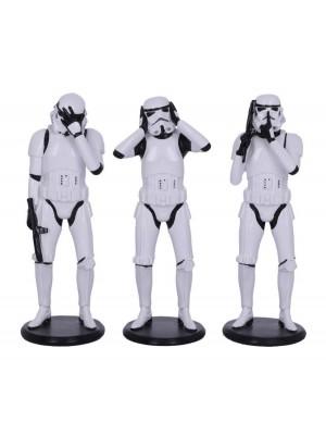 Three Wise Stormtrooper Figurine - 14cm