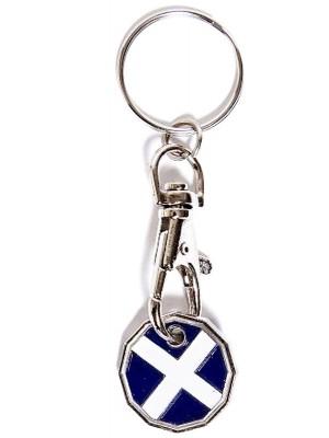 Trolley Coins - Scotland  flag