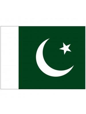 "Twin Pack Pakistan Car Flags (15""x10"")"