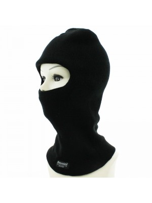 Unisex One Hole Thinsulated Balaclava - Black