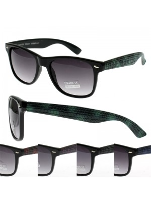 Wayfarer Sunglasses (Snake Skin Frame effect) - Assorted Colours