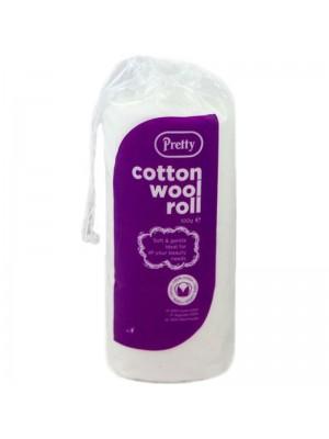 Pretty Cotton Wool Roll - 100g