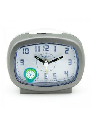WM. Widdop Alarm Clock (LED Light) - Grey