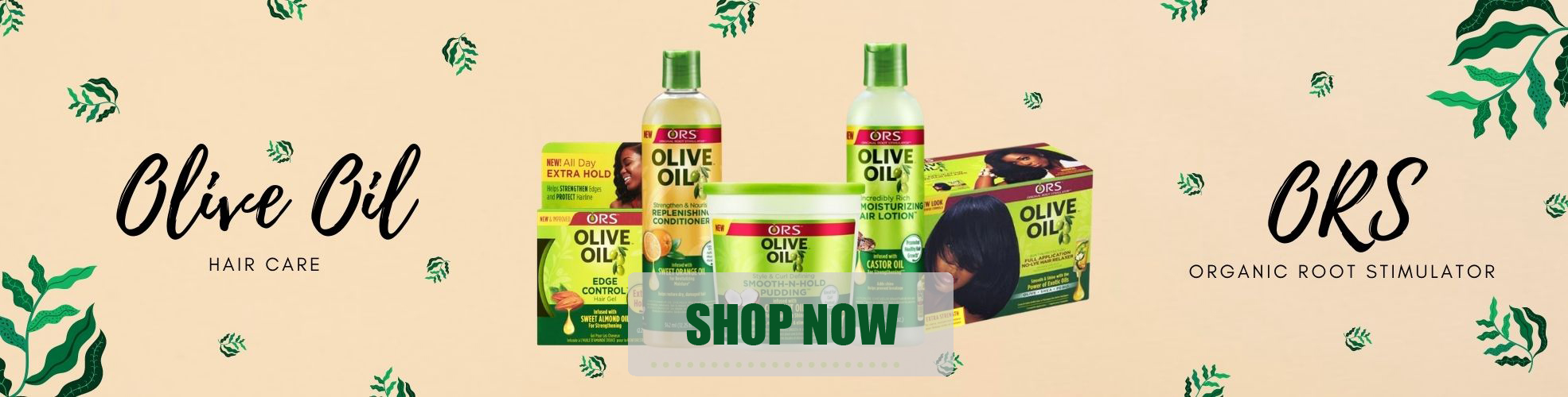 Wholesale Afro Hair Care, ORS