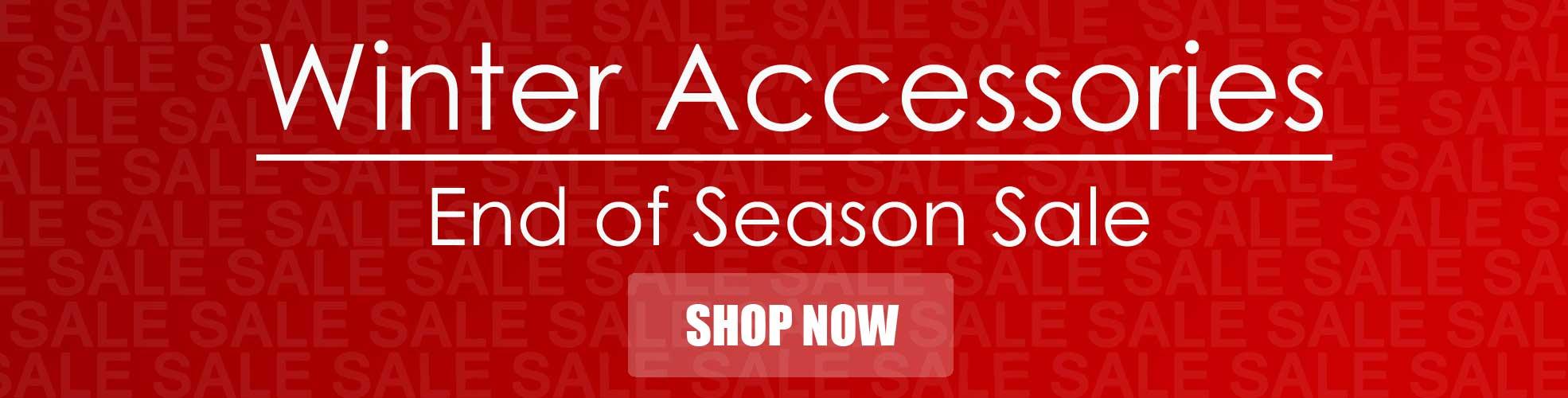 Winter Accessories Sales, Gloves, Hats, Socks