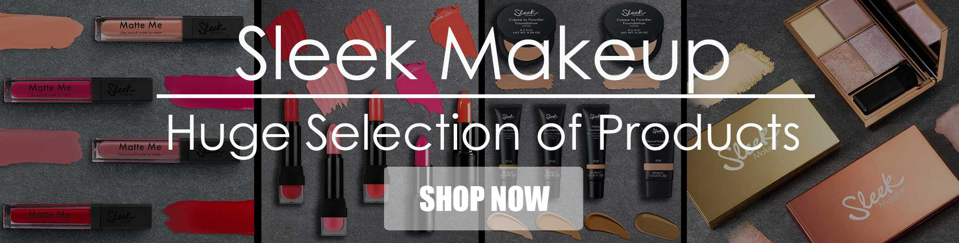 Wholesale Sleek Makeup, Matte me Lipgloss, Lipstick, Blusher