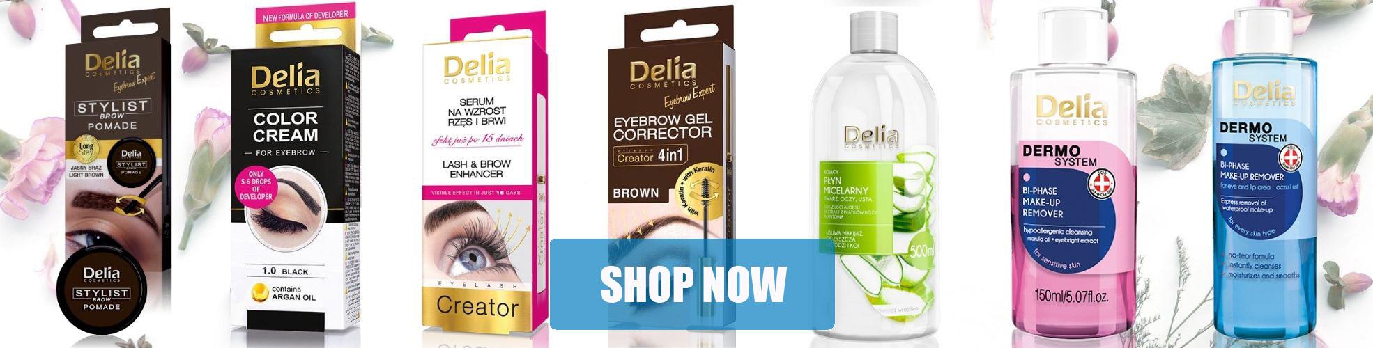 Wholesale Delia Cosmetics Eyebrow & Eyelash Care Face Care