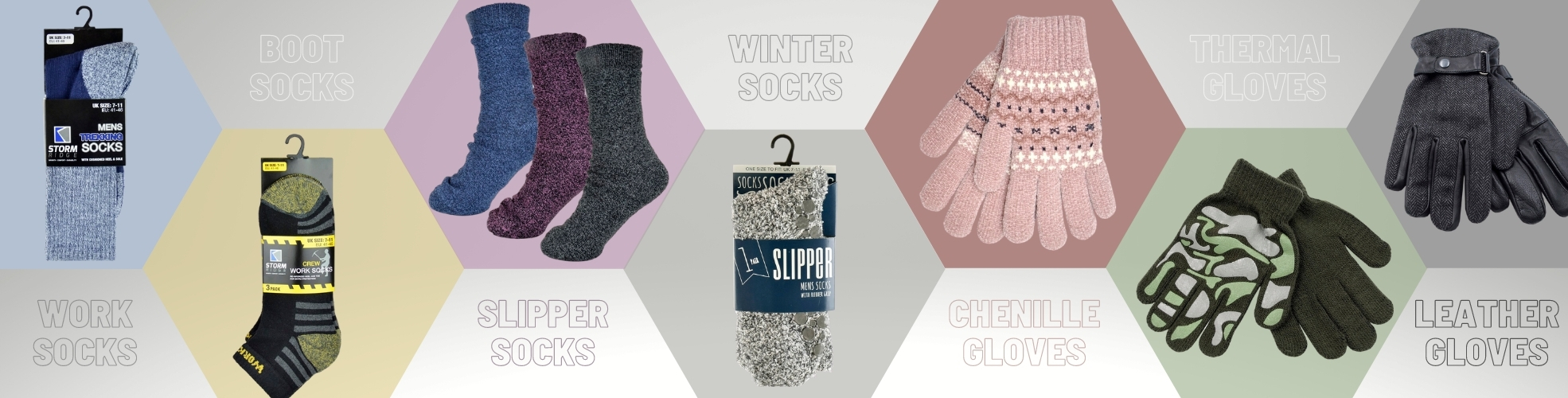 Wholesale Winter Socks, Thermal Socks, Slipper Socks, Wholesale Gloves, Leather Gloves