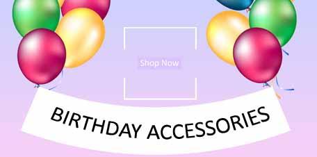 Buy now wholesale Birthday Accessories