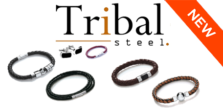 Tribal Steel Jewellery Bracelets Cufflinks and more