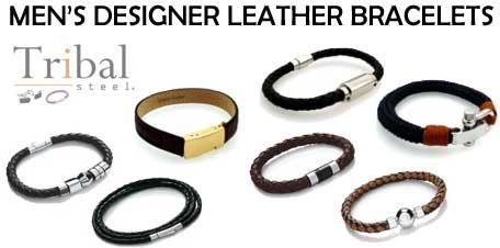 Tribal Steel Jewellery Bracelets Cufflinks and more